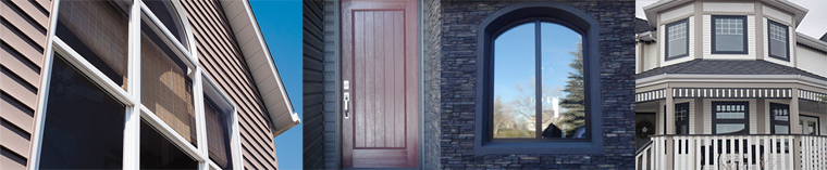 Some of the windows and doors we've installed